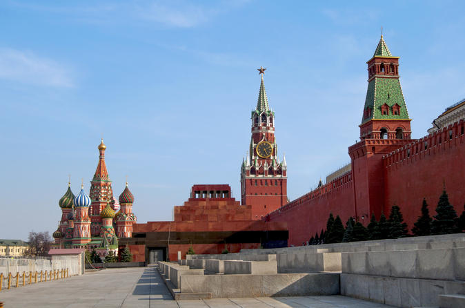 Red Square and the Moscow Kremlin