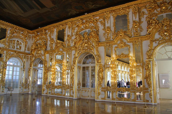 St. Petersburg Highlights Day Tour Including Tsarskoye Selo and Pavlovsk