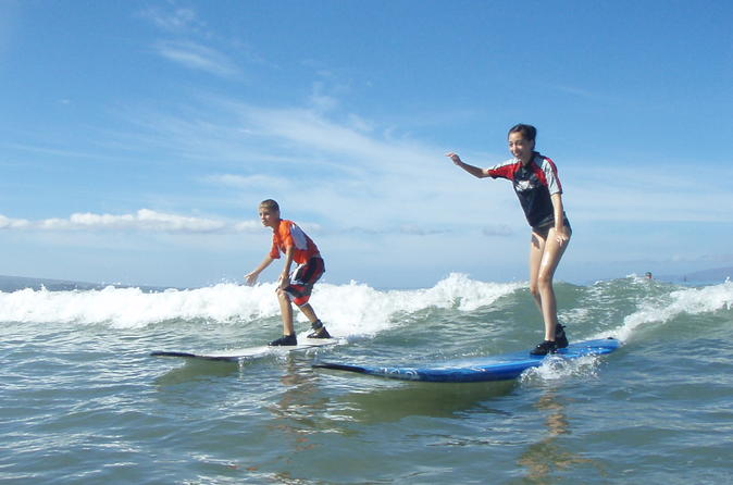 Group Surf Lesson: Two Hours of Beginners Instruction