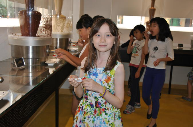Shanghai Zotter Chocolate Factory Admission Ticket including Tasting Tour
