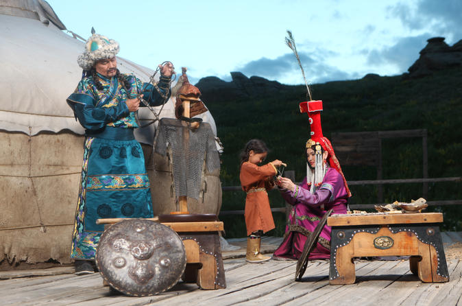 Genghis khan statue and 13th century theme park tour in ulaanbaatar 237647