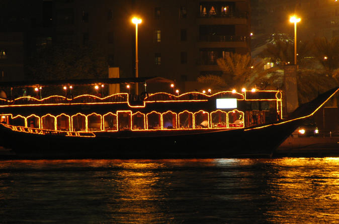 Dhow Cruise Creek Dinner - Dubai