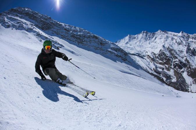 Private ski lessons in saas fee in saas fee 333629