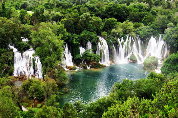 Mostar and Kravice Waterfalls Small-Group from Dubrovnik with Turkish House Included
