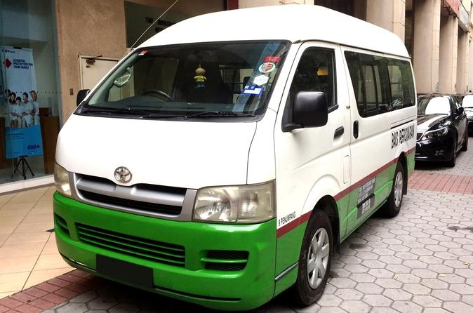 Shared Arrival Transfer: Kuching International Airport To Hotel