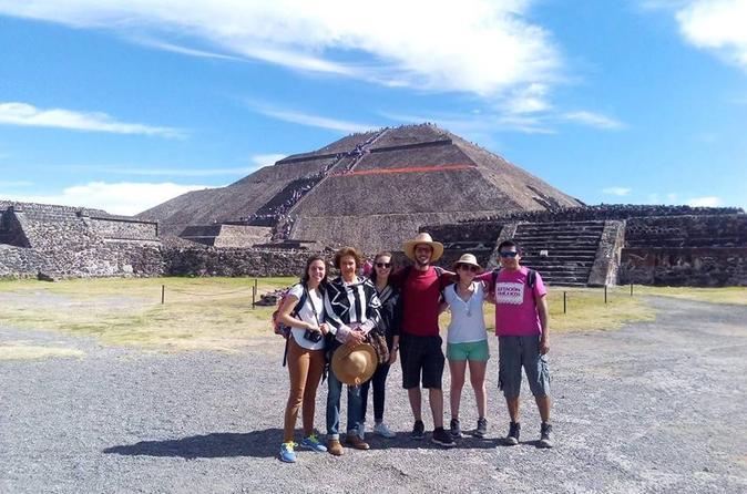 Excursão para grupos pequenos para as Pirâmides de Teotihuacán, saindo da Cidade do México