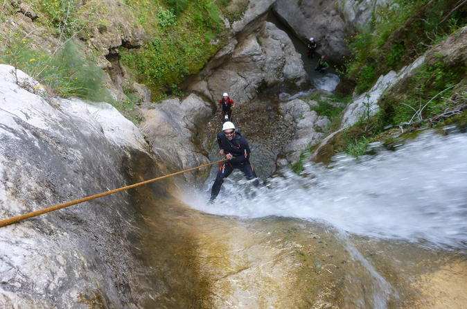 Canyoning half day tour in catania 261276