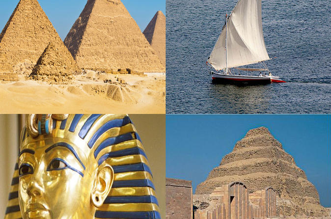 Private Tour: 2-Day Trip to Cairo from Alexandria Including Giza Pyramids, Sakkara, and Egyptian Museum