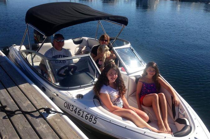 Georgian bay 17 bowrider boat rental in penetanguishene 238653