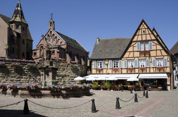 Alsace Day Trip from Strasbourg: Colmar, Eguisheim, Riquewihr, High Koenigsbourg Castle and Alsace Wine Tasting