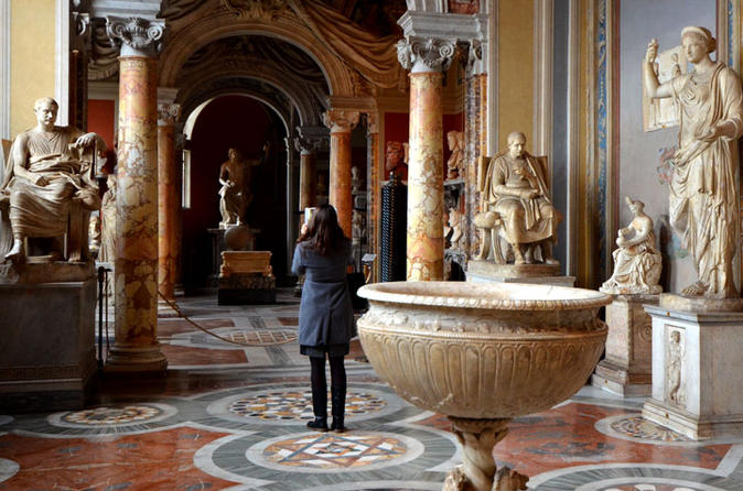 Private Vatican Tour with Hidden Gems Including Hotel Pickup