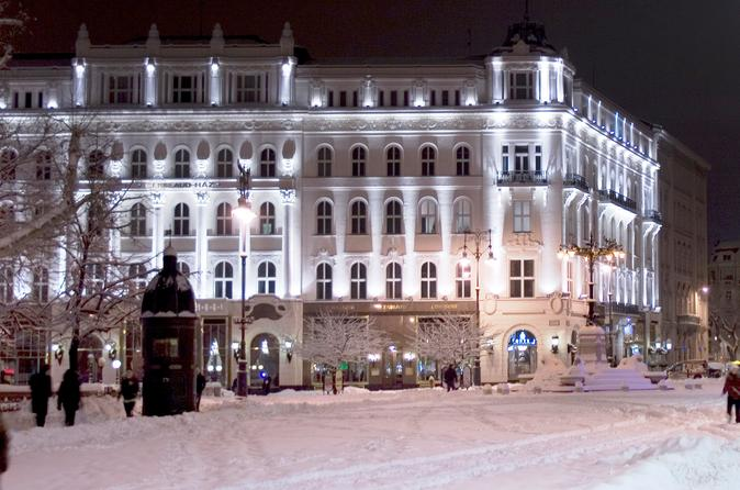 Budapest Private Full Day City Tour and Christmas Markets Visit