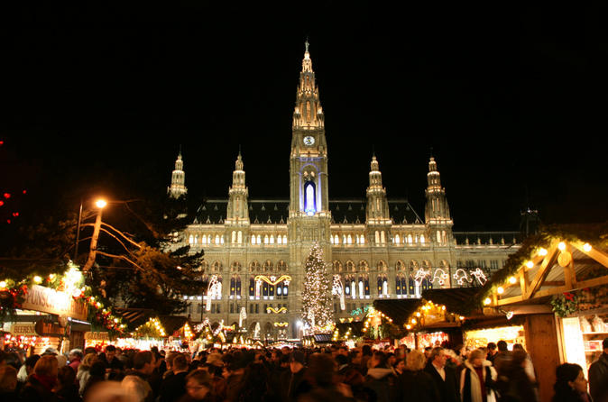 Full Day Private Excursion to the Vienna Christmas Markets from Budapest