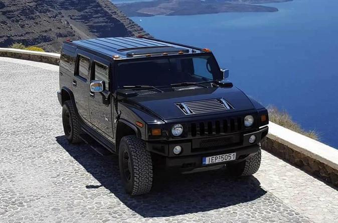 Private Tour: Santorini Panorama Hummer Adventure