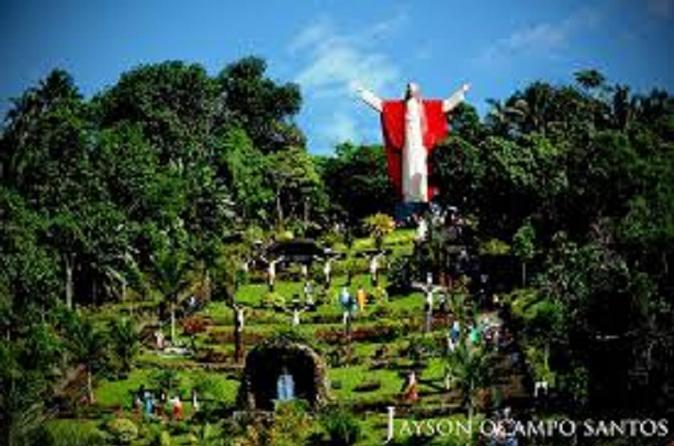 Kamay Ni Hesus and Nagcarlan Church from Manila