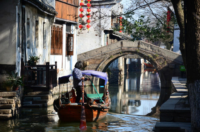 Private Day Tour: Zhouzhuang Ancient Water Village