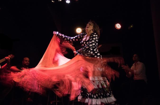 Madrid Evening Tapas and Flamenco Tour