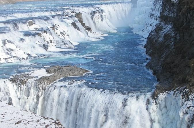 Private Golden Circle Day Trip including Bathing Experience at the Secret Lagoon from Reykjavik