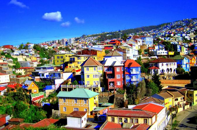 Full-Day Tour of Valparaiso Port and Vina del Mar from Santiago