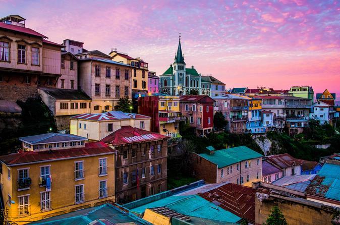 San Antonio Port Cruise Tour to Valparaiso and Casablanca Valley from Santiago