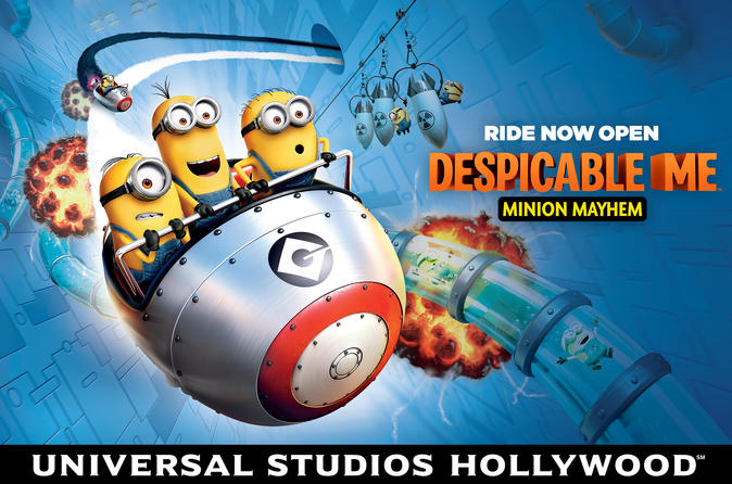 Gå forbi køen: Express-billett til Universal Studios Hollywood