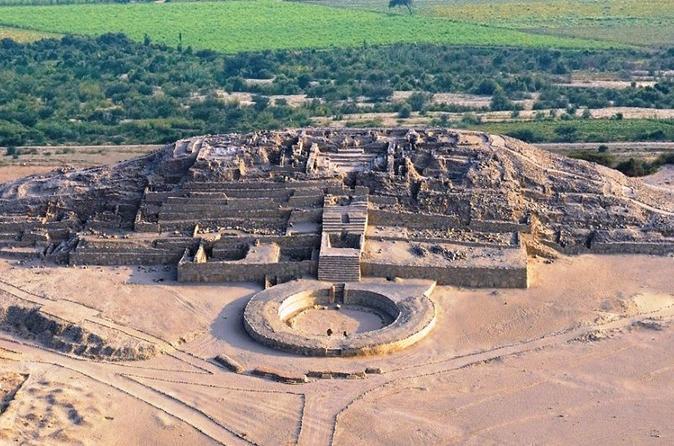 Excursão privada com tudo incluído para o sítio arqueológico de Caral