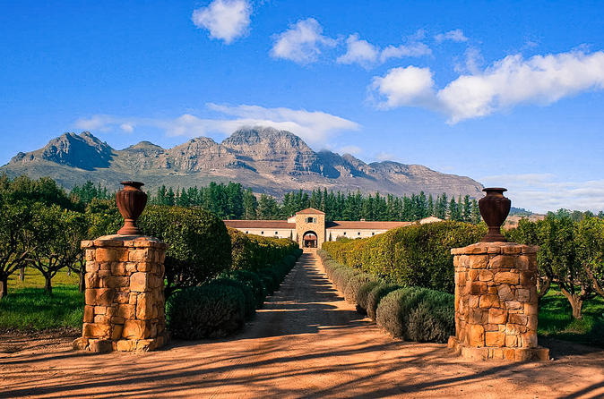 Private Wine Tour of Stellenbosch from Cape Town