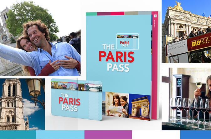 Paris Pass, incluindo ônibus de excursão com várias paradas e entrada para mais de 60 atrações