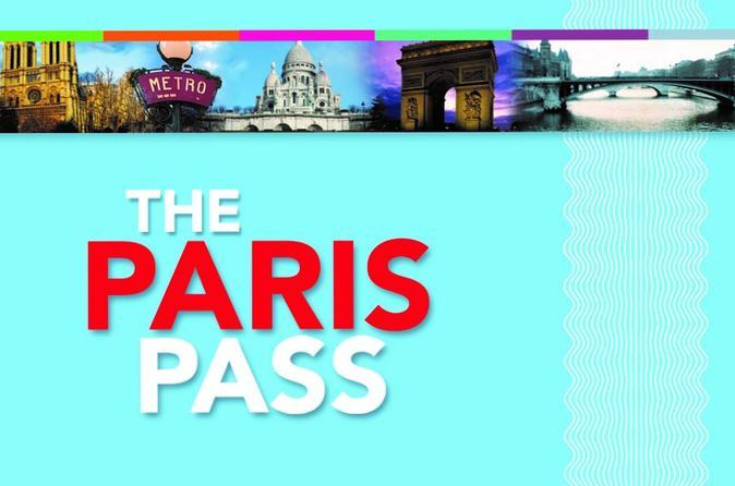 Paris Pass incluindo ônibus de excursão com várias paradas e entrada para mais de 60 atrações