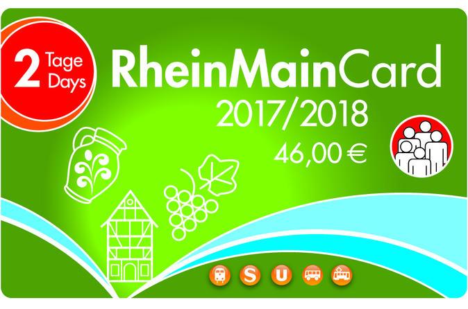 2-Day Frankfurt RheinMainCard Group Sightseeing Pass