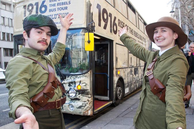 1916 Rise of the Rebels Historic Bus Tour Dublin