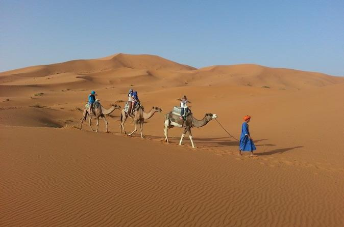 Overnight Small-Group Desert Tour from Fez with Camel Ride and Desert Camp