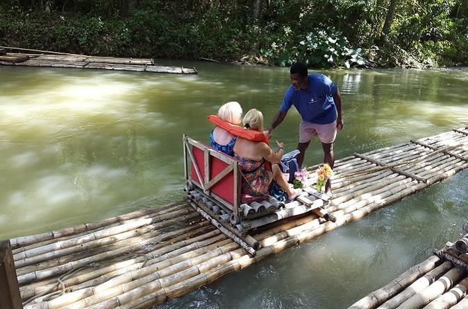 Martha Brae River Rafting Tour from Montego Bay