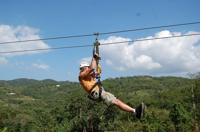 Montego Bay Canopy Zipline and Safari Tour