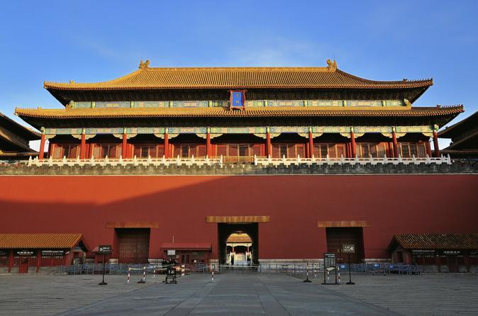 Excursão de dia inteiro essencial em Pequim incluindo Muralha da China em Badaling, Cidade Proibida e Praça de Tiananmen