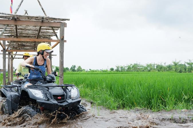 Bali Atv With River Track An Paddy Fields