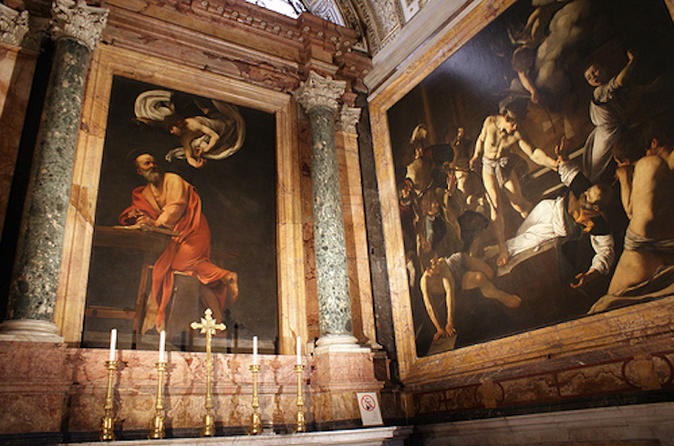 Caravaggio's Art and Life Private Walking Tour in Rome