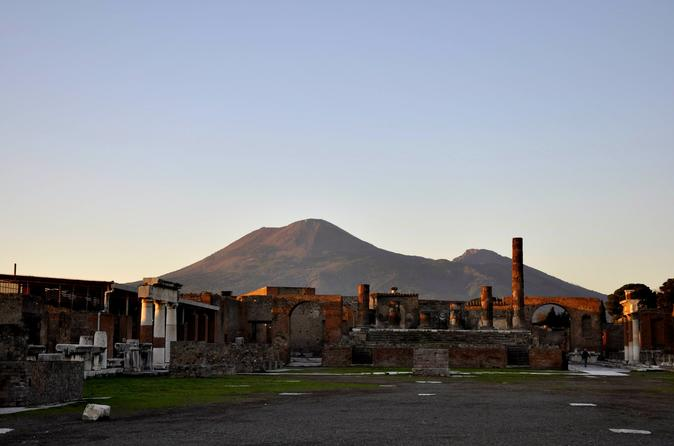 Private Tour of Pompeii from Rome with Lunch & Wine Tasting