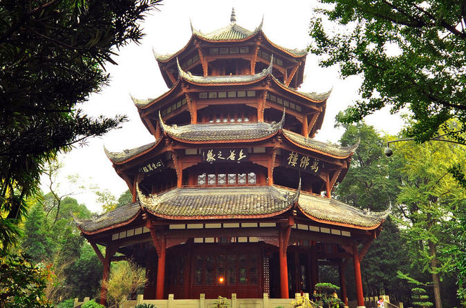 Private Chengdu City Sightseeing Tour of Qingyang Palace, Wuhou Temple and Jinli Street