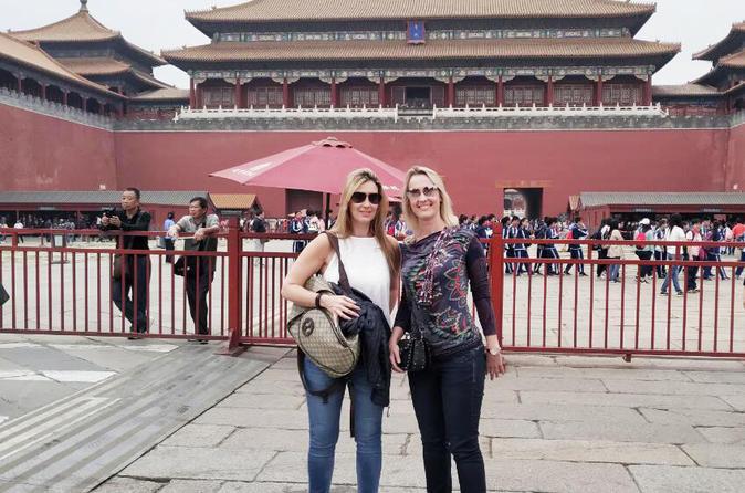 Tiananmen Square and Forbidden City Half Day Trip