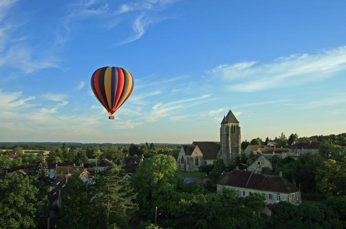 Burgundy hot air balloon ride from beaune in beaune 299709