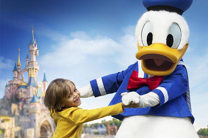 Disneyland Resort Paris with Transfer from Central Paris