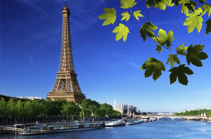 Excursão pela cidade de Paris com cruzeiro pelo Rio Sena e almoço na Torre Eiffel