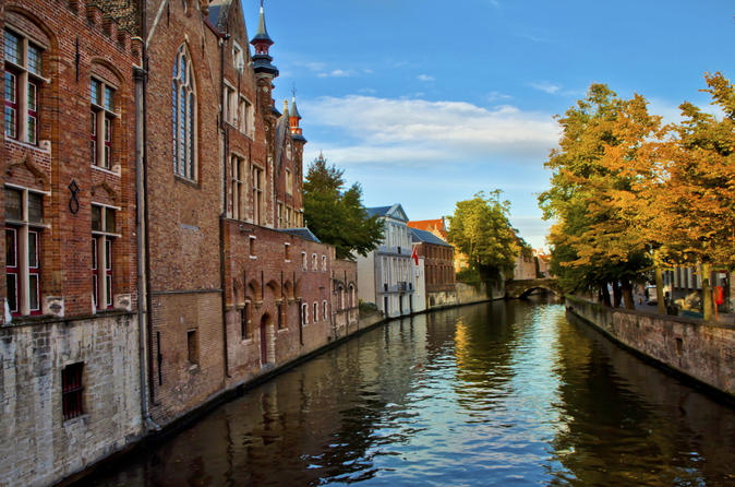 Independant Bruges Tour with Transport from Paris