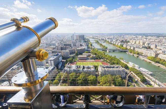 Intimate Paris Tour including Montmartre , Eiffel Tower & Cruise