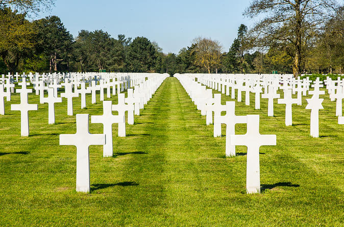 Normandy D-Day Beaches Day Trip with American Cemetery and optional lunch