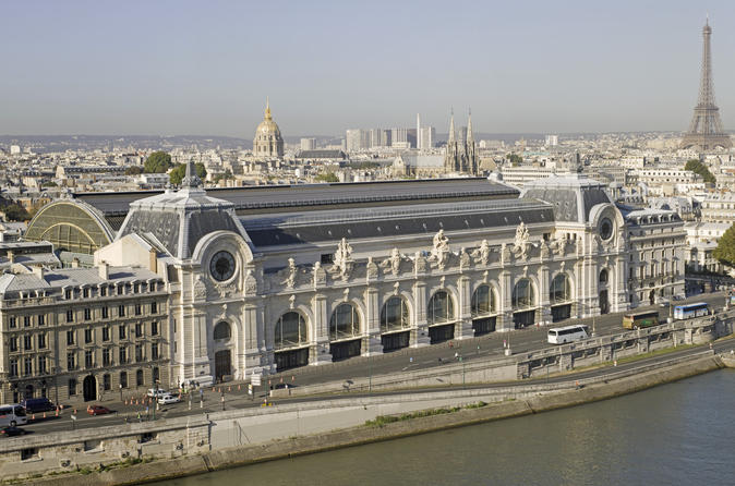 PARIS CITY TOUR AND ORSAY PRIORITY ACCESS TICKET