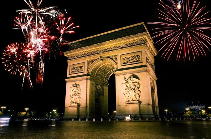 Paris New Year's Eve Illuminations and Dinner Tour