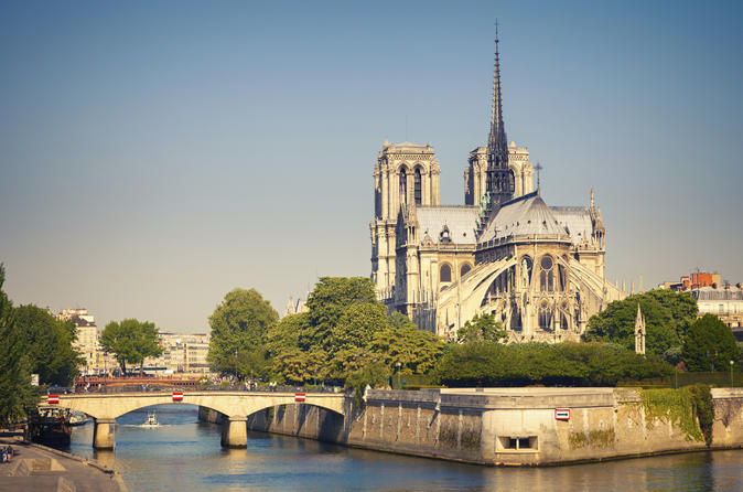 Sightseeing Tour of Paris with Lunch Cruise