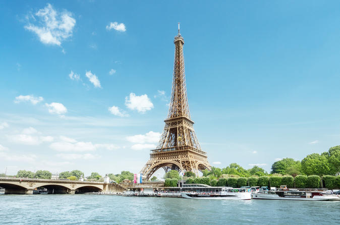 Skip the Line Eiffel Tower, Seine River Cruise and Paris Sightseeing Tour